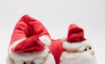 Kids Santa Slippers