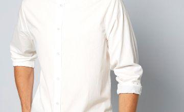 Long Sleeve Button Through Shirt