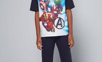 Older Boys Avengers Pyjamas