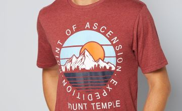 Mount Temple Graphic T-Shirt
