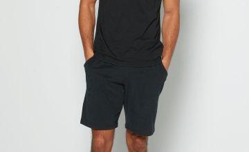 Basic T-Shirt and Short Lounge Set