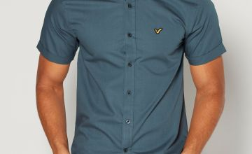 Voi Short Sleeve Embellished Logo Shirt