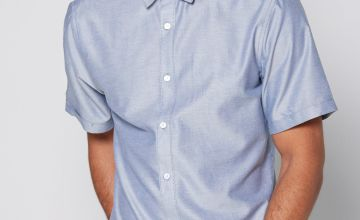 Only and Sons Short Sleeve Oxford Shirt