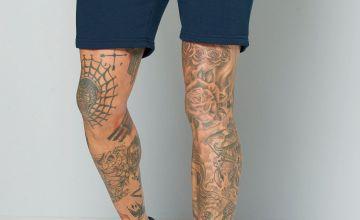 Jack and Jones Navy Sweat Shorts