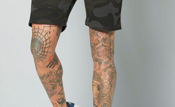 Jack and Jones Black Sweat Shorts