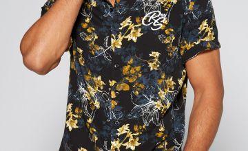 CRS55 Floral Short Sleeve Shirt