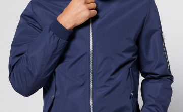 Jack and Jones Bomber Zip Jacket