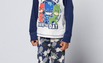 Young Boys PJ Masks Save The Day Pyjamas