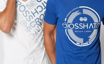 Crosshatch Circle 2 Pack T-Shirt