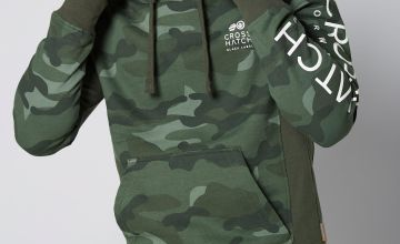 Crosshatch Camo Hoody