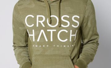 Crosshatch Digi Print Hoody