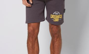 Crosshatch Logo Shorts