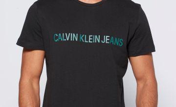 Calvin Klein Branded Black T-Shirt