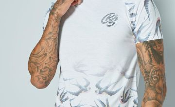 CRS55 Printed Raglan T-Shirt