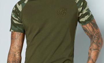 CRS55 Camo Raglan T-Shirt