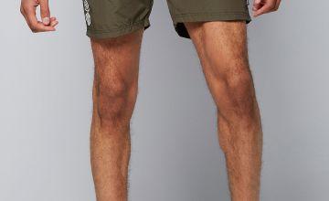 Crosshatch Swim Shorts