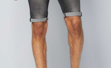 CRS55 Panelled Denim Shorts