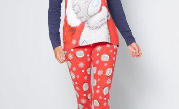 Tatty Teddy Long Sleeve Christmas Pyjamas