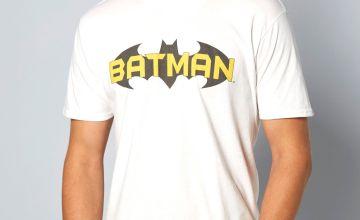 White Batman T-Shirt