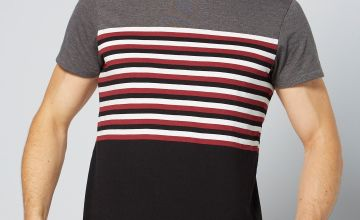 Mens Dirk Stripe T-Shirt