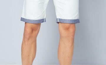 Polka Dot Chino Shorts
