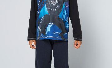Boys Black Panther Pyjamas