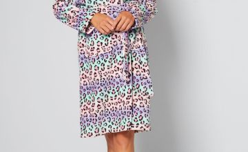 Printed Supersoft Dressing Gown