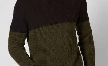 Only and Sons Colour Block Jumper