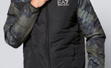 EA7 Colour Block Camo Jacket