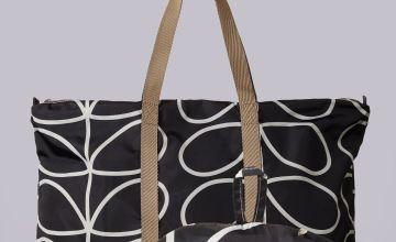 Orla Kiely Linear Stem Fold Away Large Bag