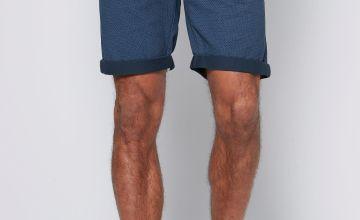 Jacquard Print Shorts