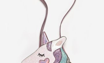 Girls Unicorn Heart Bag