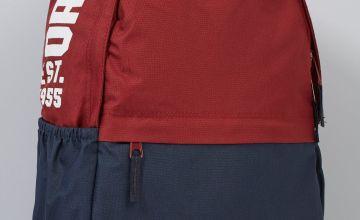Original Penguin Red/Navy Back Pack