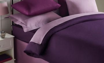 Percale Plain Dyed Pair of Housewife Pillowcases