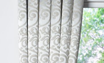 Grace Woven Eyelet Blockout Curtains