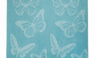 Jacquard Butterfly Towels
