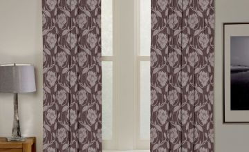 Charley Chenille Pencil Pleat Curtains