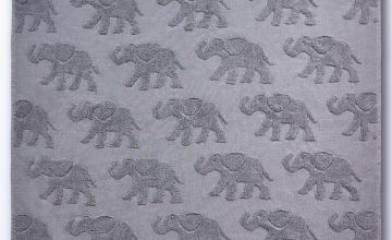 Elephant Embossed Towel