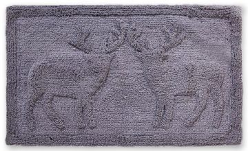 Stag Embossed Bath Mat