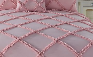 Casual Lattice Duvet Set