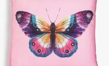 Summertime Butterfly Cushion Cover