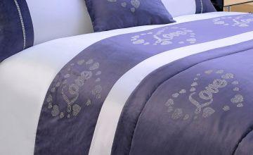 Sequin Love Cushion Cover