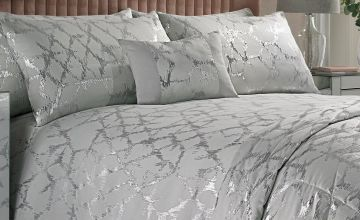 Luxor Metallic Duvet Set