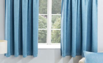 Serenity Pencil Pleat Blockout Curtains