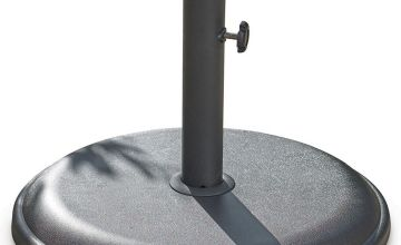 16kg Black Parasol Base