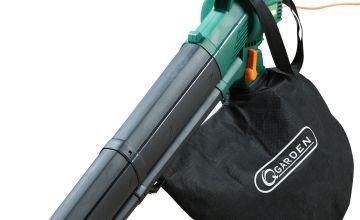 Q Garden 3 in 1 Leaf Vac and Blower