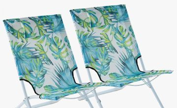Set of 2 Beach Chairs