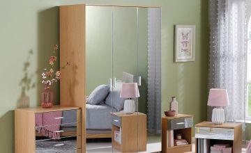 Coniston Mirror Fronted 4-Piece Bedroom Set