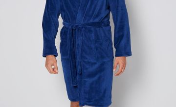 Embroidered Personalised Mens Supersoft Bath Robe