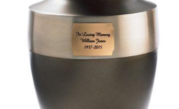 Personalised Memorial Urn